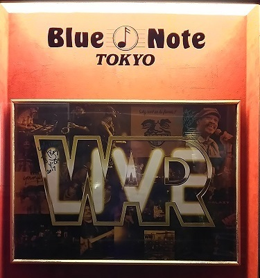 ブルーノート東京の表看板